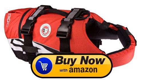 Dog Life Vest Flotation Device