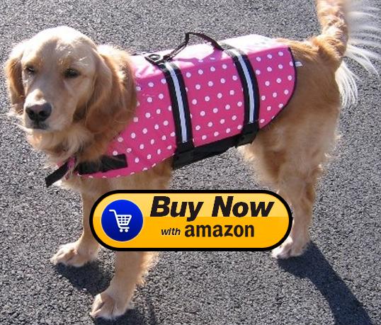 Pink Dog Life Jackets